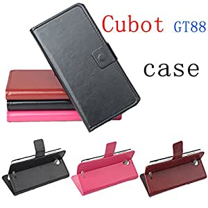 Cell Buddy Hot sale Cubot GT88 original phone case cover mobile phone protective case Cubot GT88 holsteins export --- Color:Brown