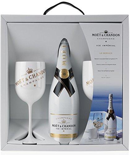 Moët & Chandon Ice Impérial Gift Set Champagne & Moët & Chandon Champagne Flutes x 2
