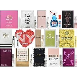 Designer Fragrance Samples for Women - Lot of 15 Perfume Vials