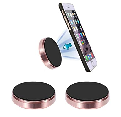 Soporte Magnético Móvil Universal Coche [2Unidades] Montura Imán Universal Para Moviles/Tablets/