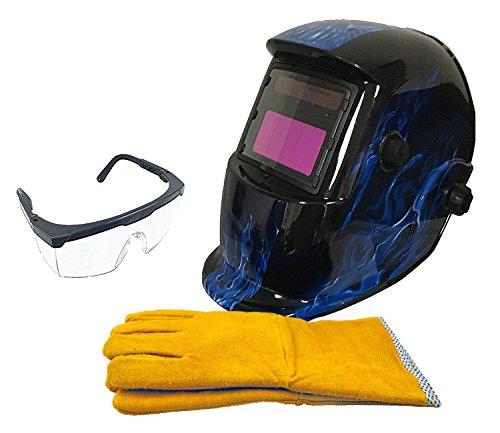 Welding Helmet Mask (Blue) - 3