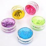 Bulges New Plastic Clear Light Up YoYo Balls Professional Yo-yo Children Adult Toys