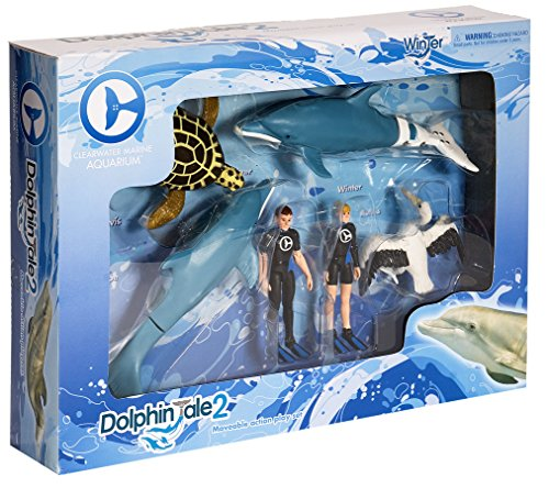 - Dolphin Tale 2 Movable Action Playset