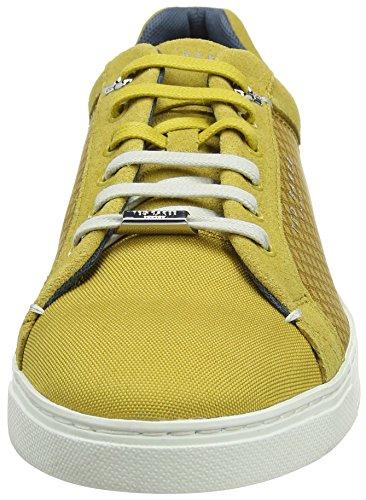 Ted Baker Sarpio, Sneaker Uomo Giallo (Yellow #Ffff00)