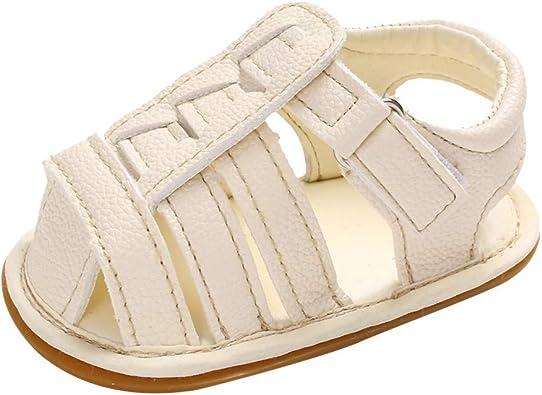 US Summer Sandals Baby Boys Girls Infant Soft Crib Shoes Moccasins Shoes Sandals