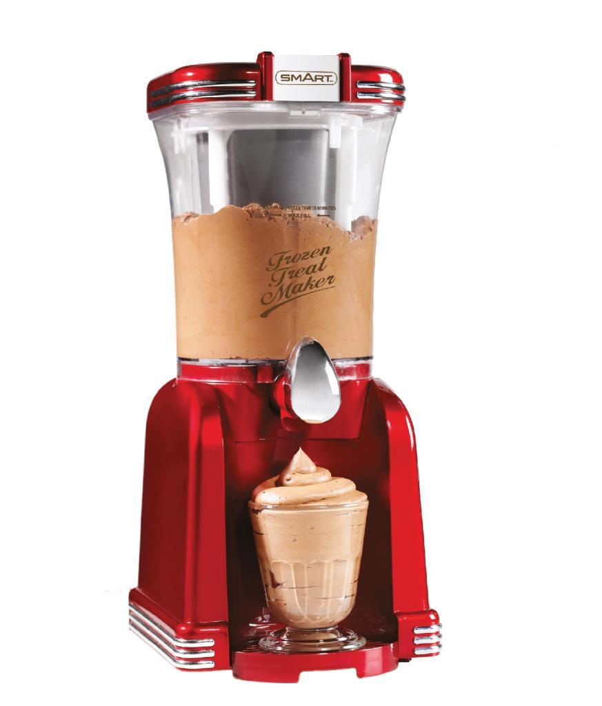 smart 2 in 1 slush and soft ice cream maker kitchen home. Black Bedroom Furniture Sets. Home Design Ideas
