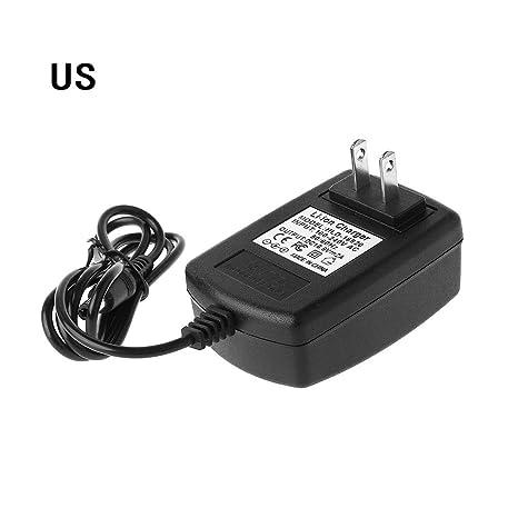 JERKKY EE.UU. Enchufe 4S 16.8V 2A Cargador de CA para 18650 Batería de Litio 14.4V 4 Serie Litio li-Ion Batería Cargador de Pared 110V-245V