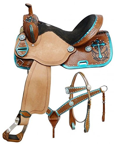 Western Roping Saddle Set - 6