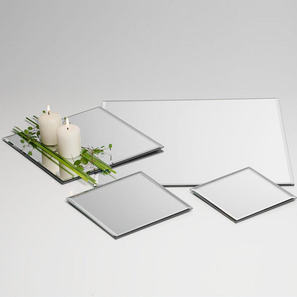 Sandra Rich Tablett Spiegel quadratisch 15x 15x 0, 5E.6 5E.6