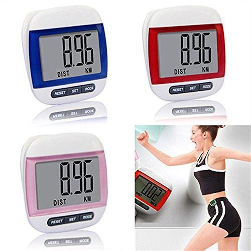 Mini Waterproof Step Movement Calories Counter Multi-Function Digital Pedometer ()