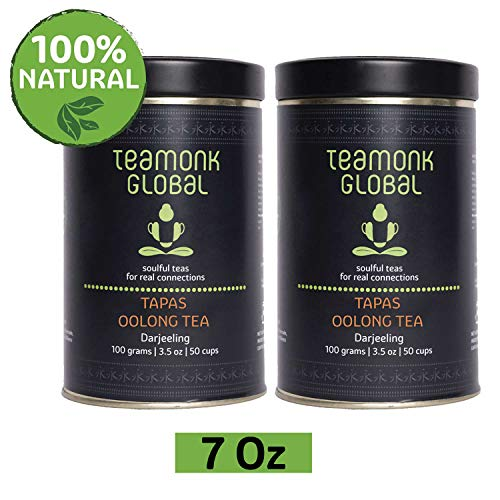 Oolong Tea Caffeine - Darjeeling Oolong Tea, 7 oz- Pack of 2 (3.5oz each) |Supports Weight Loss | 100% Natural Whole Loose Leaf Tea fromthe Himalayas|No additives