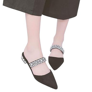 ea1e58a9e1286 Amazon.com: Sharemen Women's Shoes Fashion Casual Pointed Shoes ...