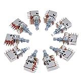 10 Pack B250K Push Pull Guitar Control Pot Potentiometer Guitar Parts