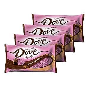 DOVE PROMISES VALENTINA Leche Chocolate Candy: Amazon.com ...