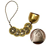 Chinese Feng Shui Bell for Wealth and Safe - Home Decoration