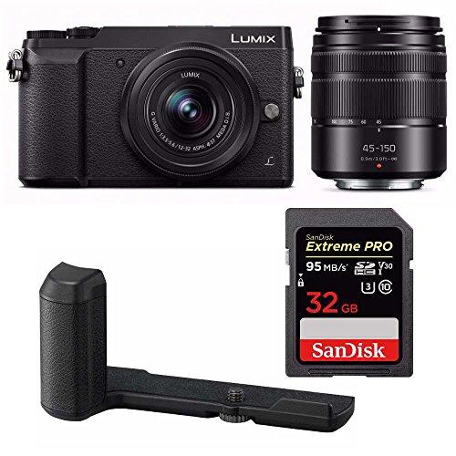 Panasonic Lumix GX85 Mirrorless Camera (HGR2 Grip Bundle) For Sale