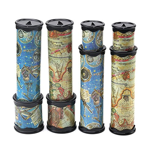 3 Pcs Kaleidoscopes & Prisms for Children & Adults Educational Toys & Games Best Birthday Gift for Kids (Random) - Rugs Kaleidoscope Collection