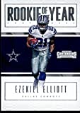 #6: 2016 Panini Contenders Rookie of the Year Contenders #1 Ezekiel Elliott Dallas Cowboys Football Card