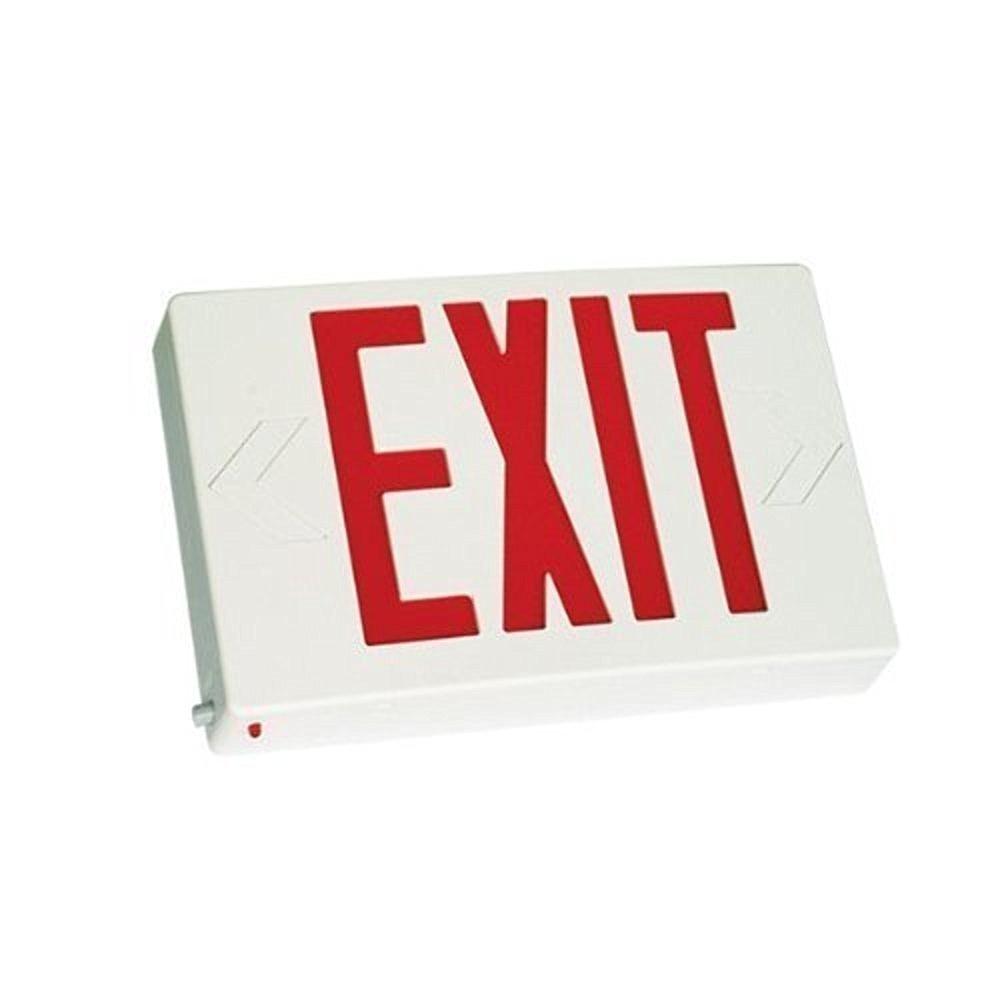 eTopLighting LED Exit Sign Emergency Light Lighting Emergency LED Light/Battery Back-up/Red Letter, AGG745