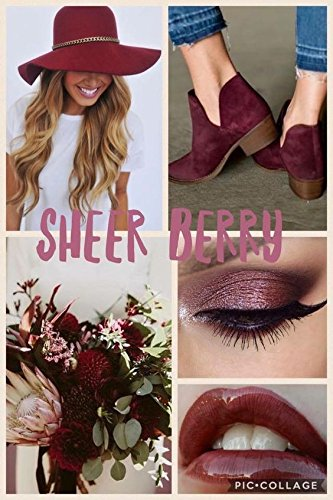 For Lips Sheer Berry (LipSense Liquid Lip Color, Sheer Berry, 0.25 fl oz / 7.4 ml)