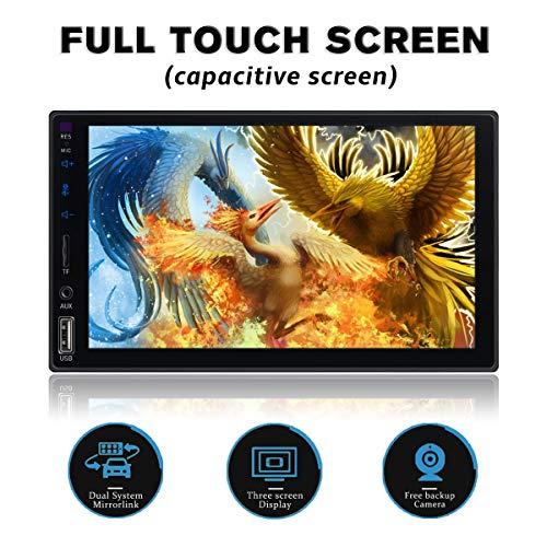 Double Din Full Touch Screen Blu...
