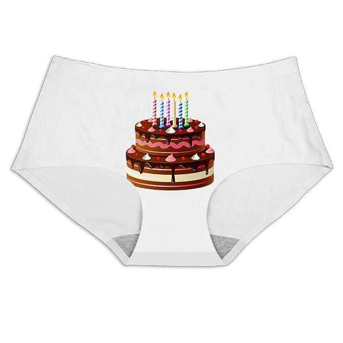 Elephantan Women Chocolate Birthday Cake Smooth Breathable Sex