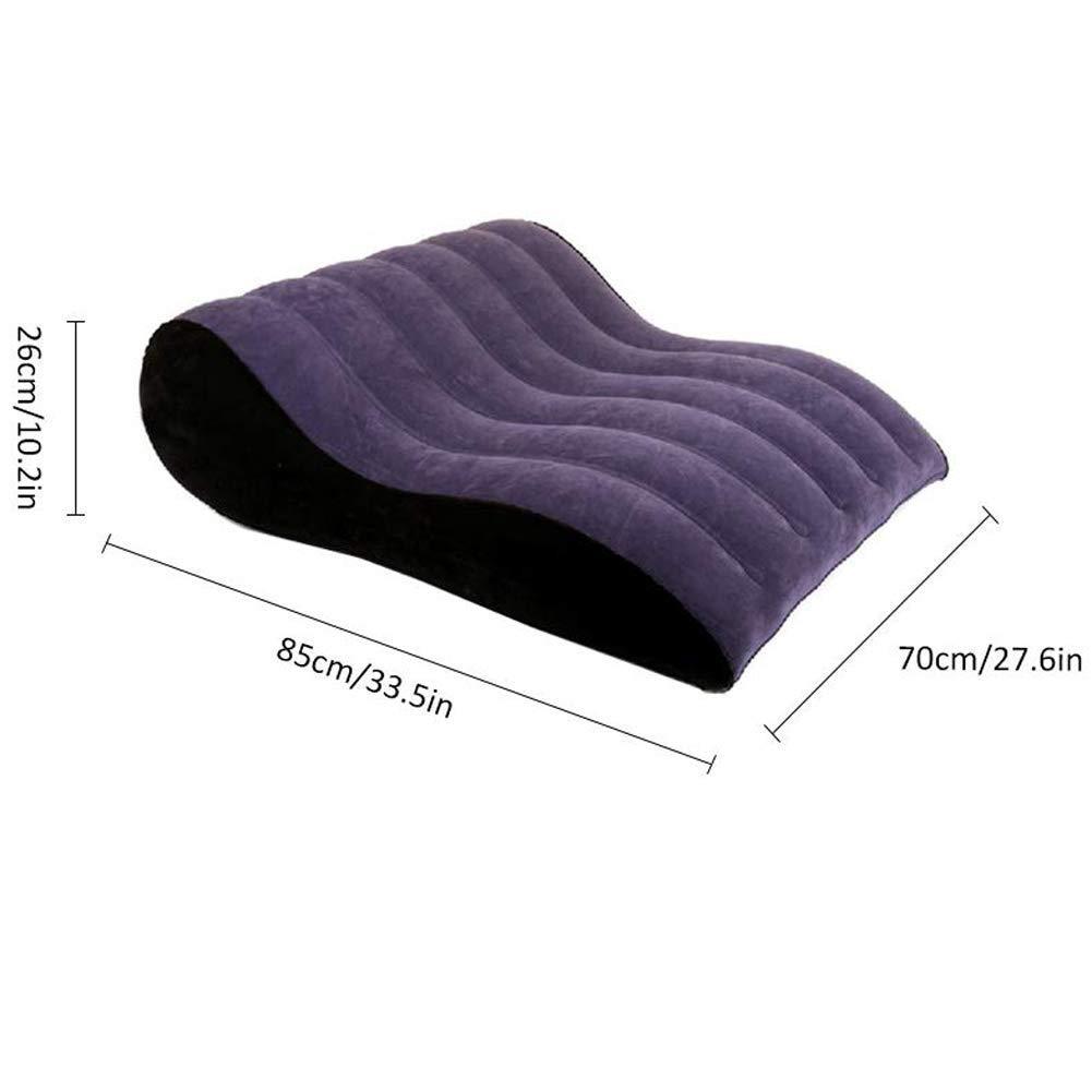 Amazon.com: Sofá inflable multifuncional, diseño ergonómico ...