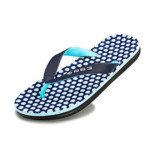da da spiaggia uomo 2018 Mens Blu Pantofola infradito Classic per shoes sandali qwwXpAzx