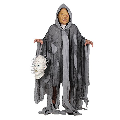 Halloween Scare Costume Horrible Ghost Death Fancy Role Play Bleeding For Adult (Black Death Doctor Costume)