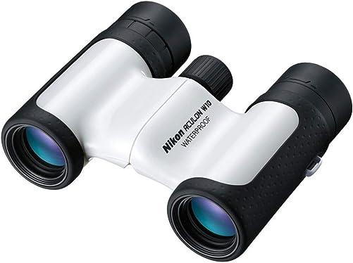 Nikon Aculon W10 8×21 Waterproof White Binoculars