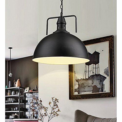 Winsoon 30cm industrial metal pendant light antique style for Kitchen spotlights amazon