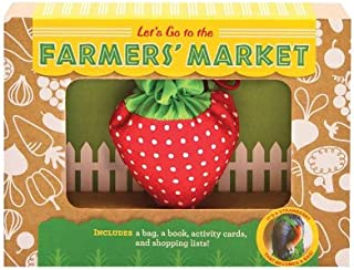 product image for Magic Cabin Let's Go to The Farmers Market Kit with Booklet, Activity Cards, and Reusable Tote Bag