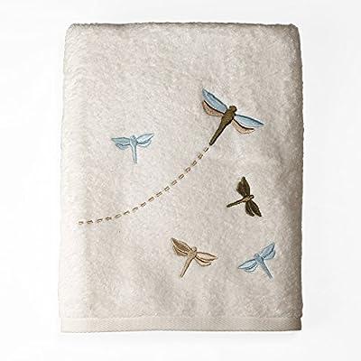 SKL Home by Saturday Knight Ltd. Jocelyn Bath Towel - 100Percent Cotton Machine wash for easy care 50Long x 24wide - bathroom-linens, bathroom, bath-towels - 51Pt0ODMmdL. SS400  -