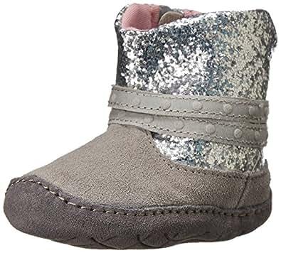 Amazon.com: Stride Rite Crawl Glittery Girl Boot (Infant
