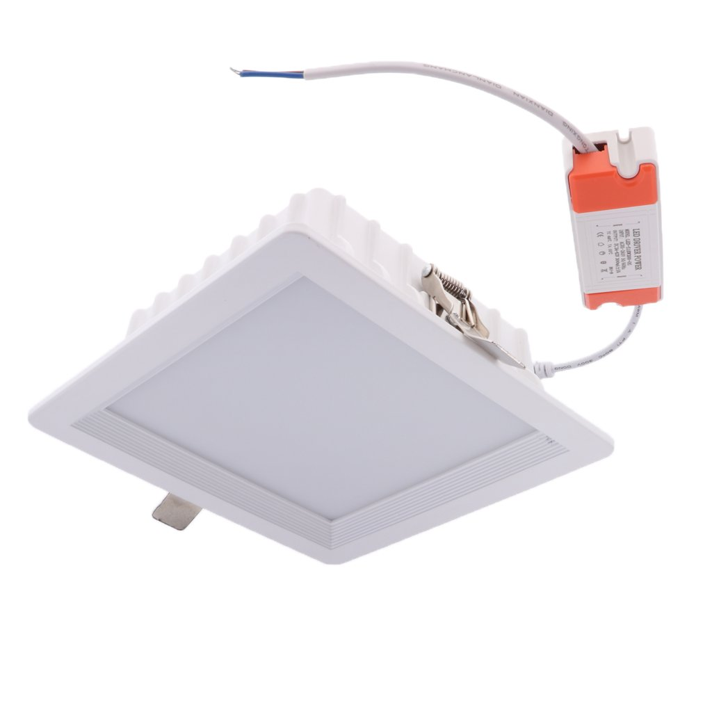 Homyl 18W 12W LED Downlight Recessed Fixture Ceiling Lamp 6000K LED Downlight - 6 Inch 18W