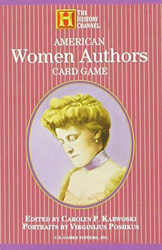 American Authors Card Game - American Women Authors Card Game (History Channel)