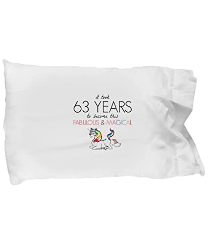 BarborasBoutique 63rd Birthday Pillowcase