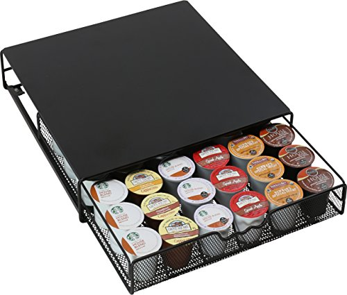 DecoBros K-cup Storage Drawer Holder for Keurig K-cup Coffee Pods (Coffee Tray Container)