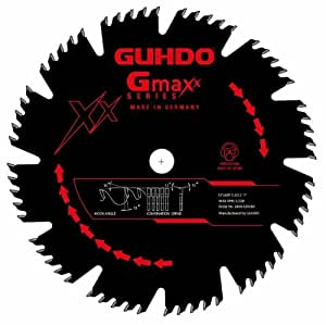 DCT (Special Projects) 2400.120C60 12 Inch 60 Teeth Carbide Tipped Glue Line General Purpose Circular Saw Blade