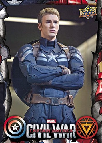 Captain America Civil War Complete 60 Card Base Set - Movie Trading Card Set
