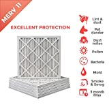 20x20x1 MERV 11 ( MPR 1000 ) Air Filters for AC and Furnace - 6 Pack