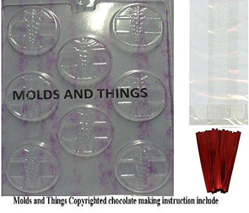 MEDICAL MINTS Chocolate Candy Mold With © Candy Making In...