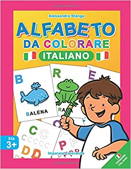 Alfabeto Da Colorare Amazon It Alessandra Stanga Libri