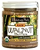 Wilderness Poets Walnut Butter with Cashews - Organic & Raw - 8 oz (227 g)