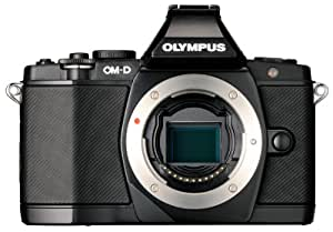 Olympus OM-D E-M5 16MP Live MOS Mirrorless Digital Camera with 3.0-Inch Tilting OLED Touchscreen [Body Only] (Black) (Discontinued by Manufacturer)
