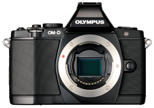 Olympus OM-D E-M5 16MP Live MOS Mirrorless Digital Camera with 3.0-Inch Tilting OLED Touchscreen [Body Only] (Black) (Discontinued by Manufacturer) (Best Bag For Omd Em5)