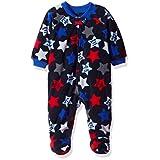 The Children's Place Little Boys' Toddler Long Sleeve Blanket Pajama, Star Print Blue, 3T