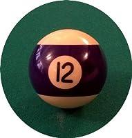 Billard-Einzelkugel 57,2 mm - Nr. 12