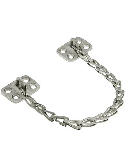 Solid Brass 10\u0026quot; Transom Window Chain In Satin Nickel  sc 1 st  Amazon.com & Solid Brass 10\