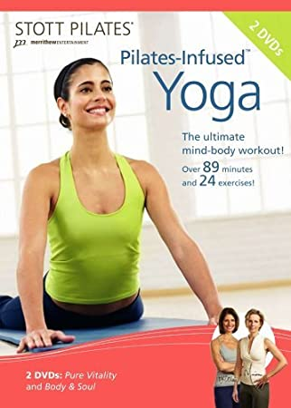STOTT PILATES Pilates-Infused Yoga DVD 2 DVD Set by STOTT ...